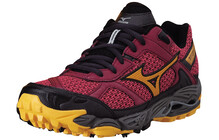 Mizuno Women's Wave Cabrakan 4 rouge red/zinnia/red plum